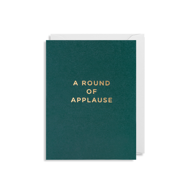 A Round of Applause - Lagom Design