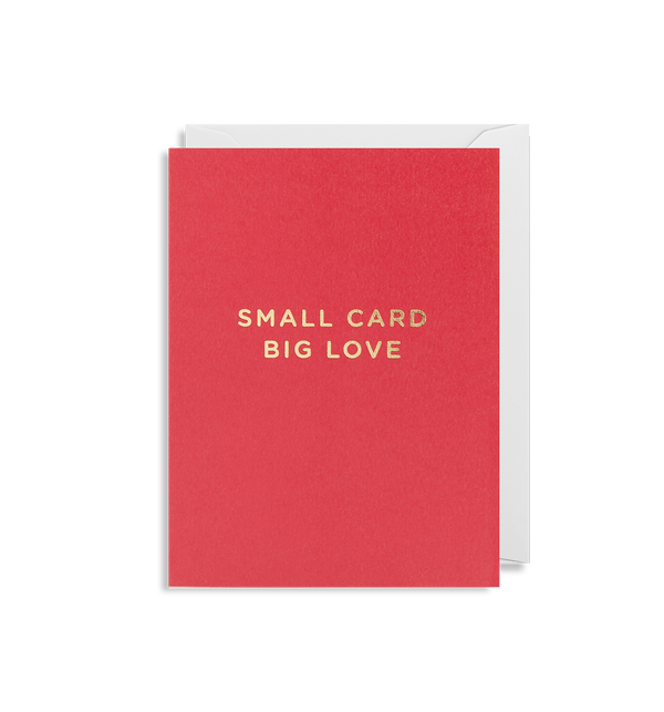 Small Card Big Love - Lagom Design