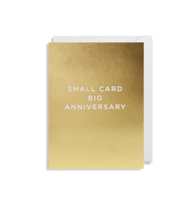Small Card Big Anniversary - Lagom Design