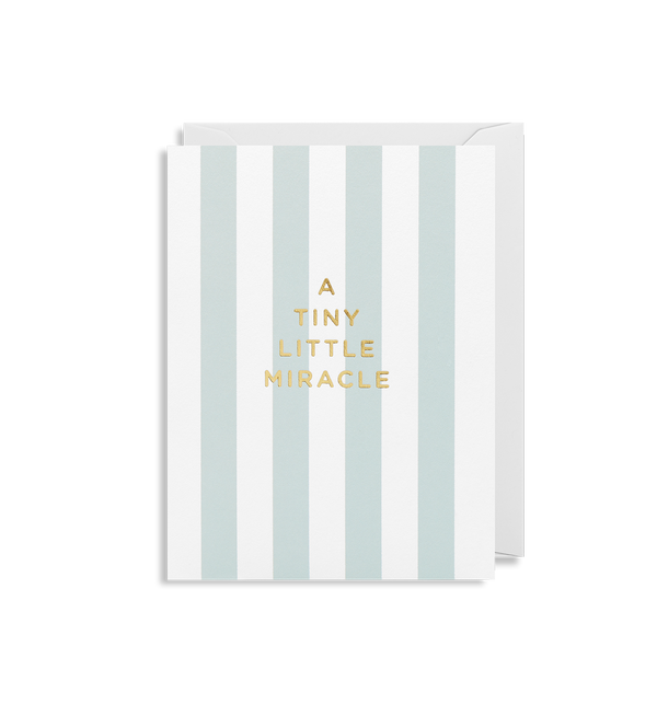 A Tiny Little Miracle (Blue) - Lagom Design