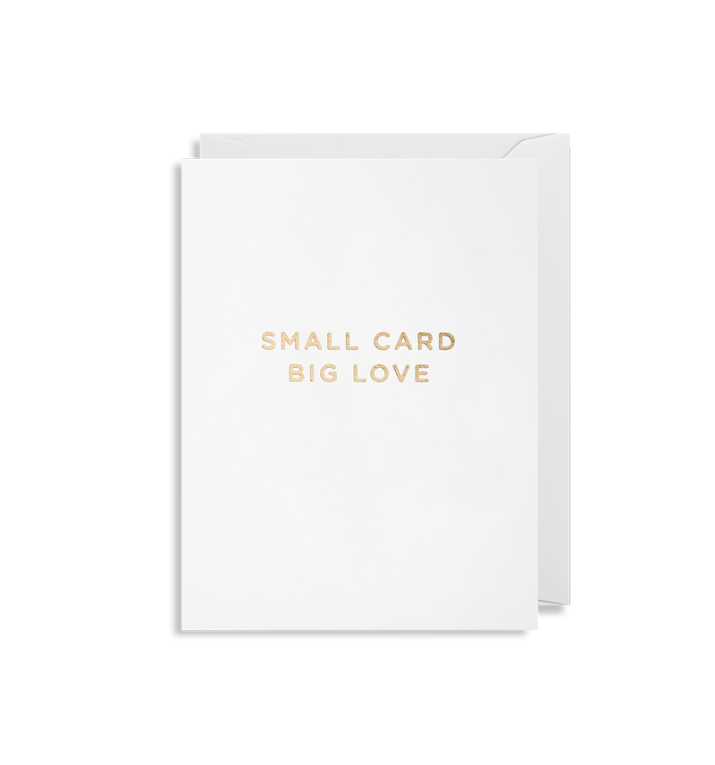 Small Card Big Love