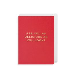 Are You As Delicious As You Look - Lagom Design