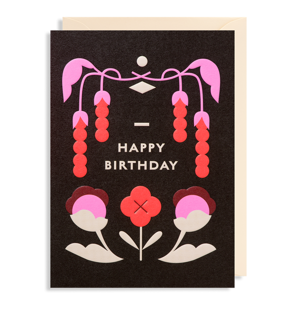 Berry Blossom: Birthday Card