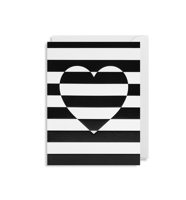 Striped Heart