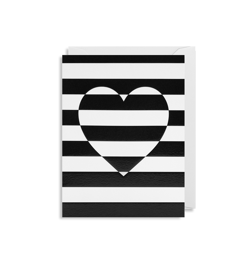 Striped Heart - Lagom Design