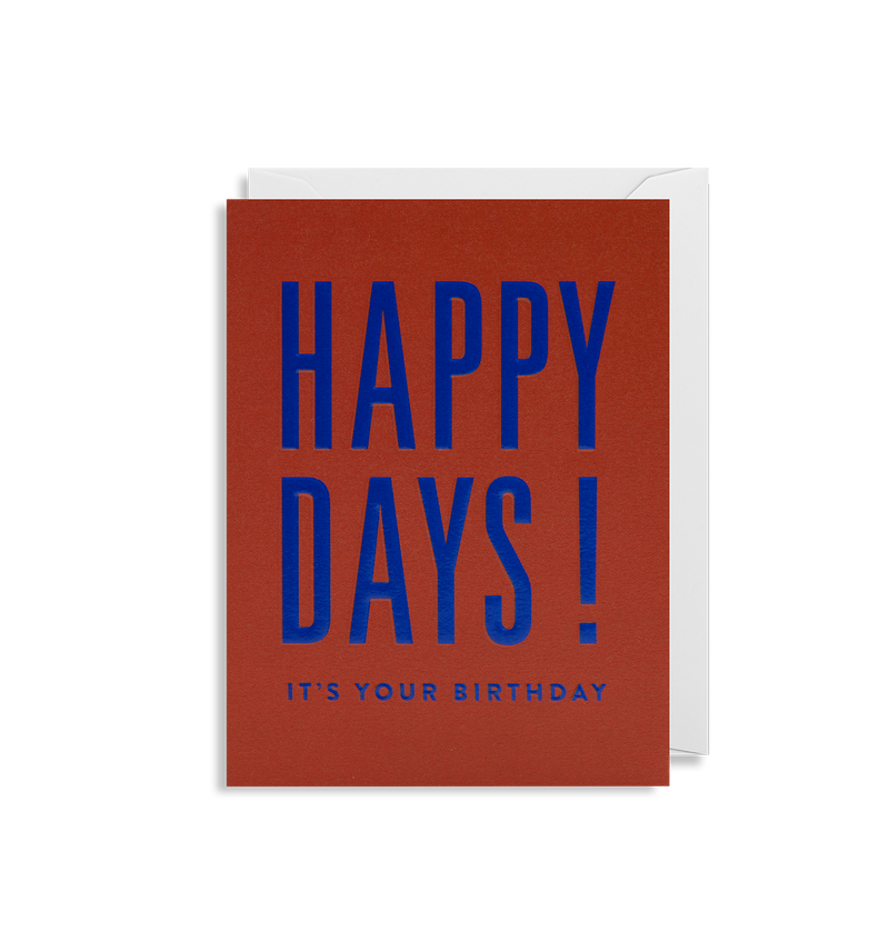 Happy Days! It's Your Birthday - Lagom Design