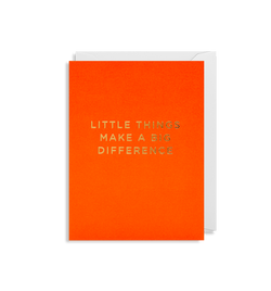Little Things Make a Big Difference - Lagom Design