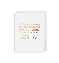 Hope your Day is Filled with Joy - Lagom Design
