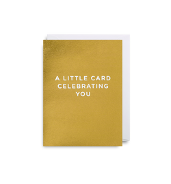 A Little Card Celebrating You