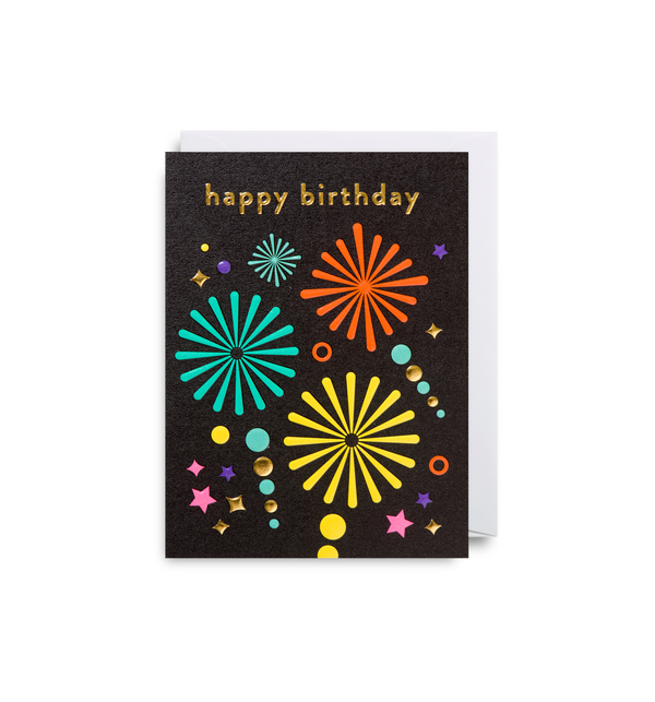 Fireworks: Birthday Card