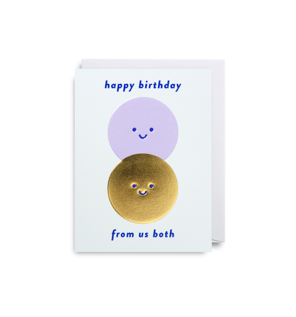 From Both Of Us: Birthday Card