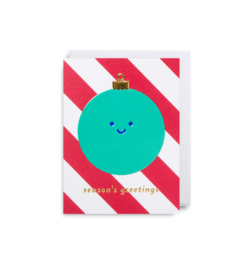 A Happy Little Bauble: Christmas Card
