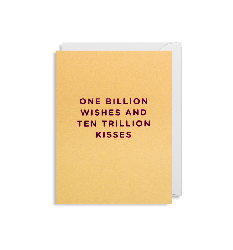 One Billion Wishes