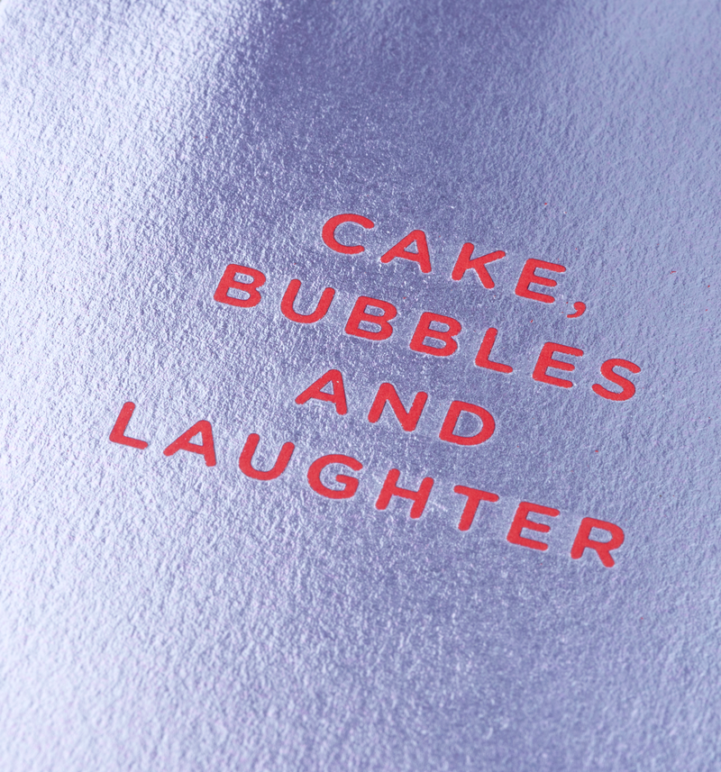 Cake, Bubbles And Laughter