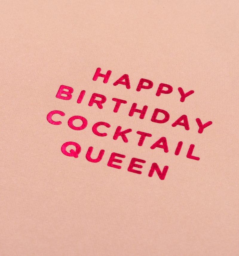 Happy Birthday Cocktail Queen Lagom Design