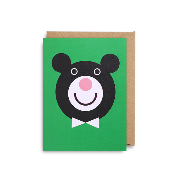 Dicky Bear Mini Card - Lagom Design
