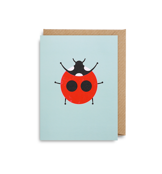 Ladybird Mini Card - Lagom Design