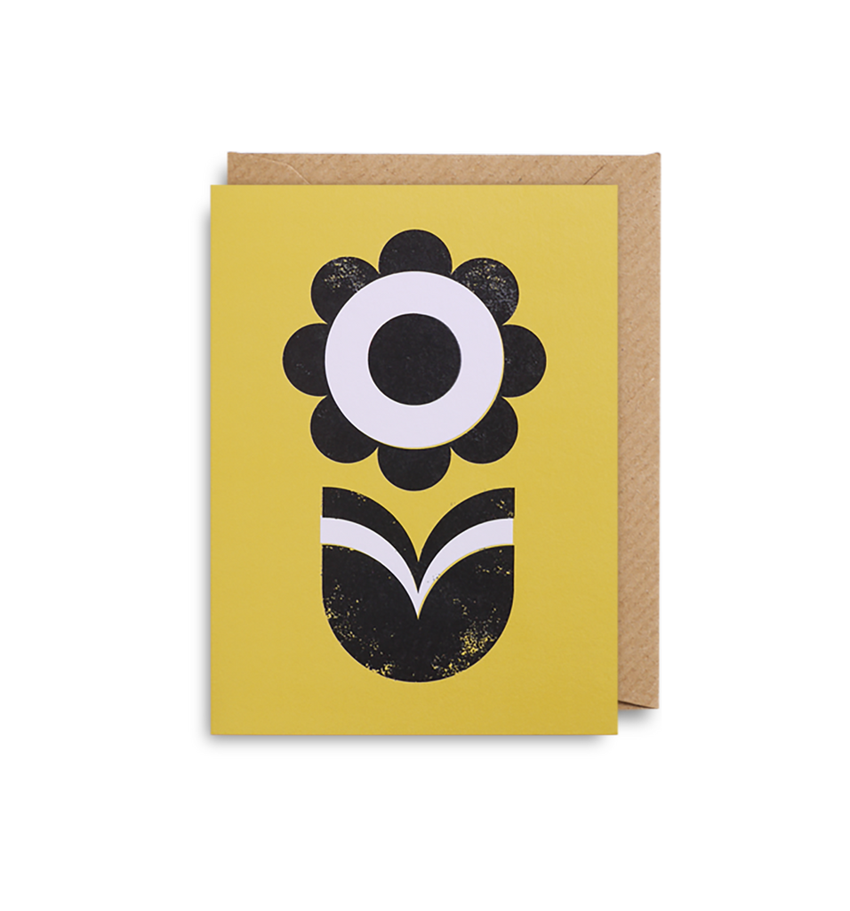 Sunflower Mini Card