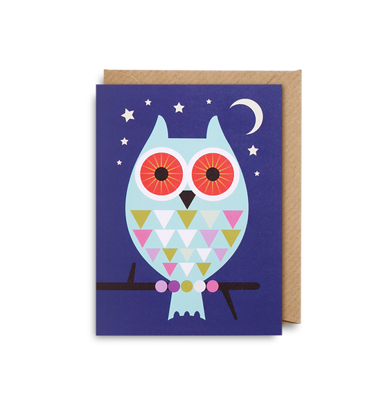 Big Owl Mini Card - Lagom Design
