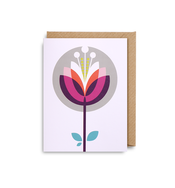 Lotus Mini Card - Lagom Design