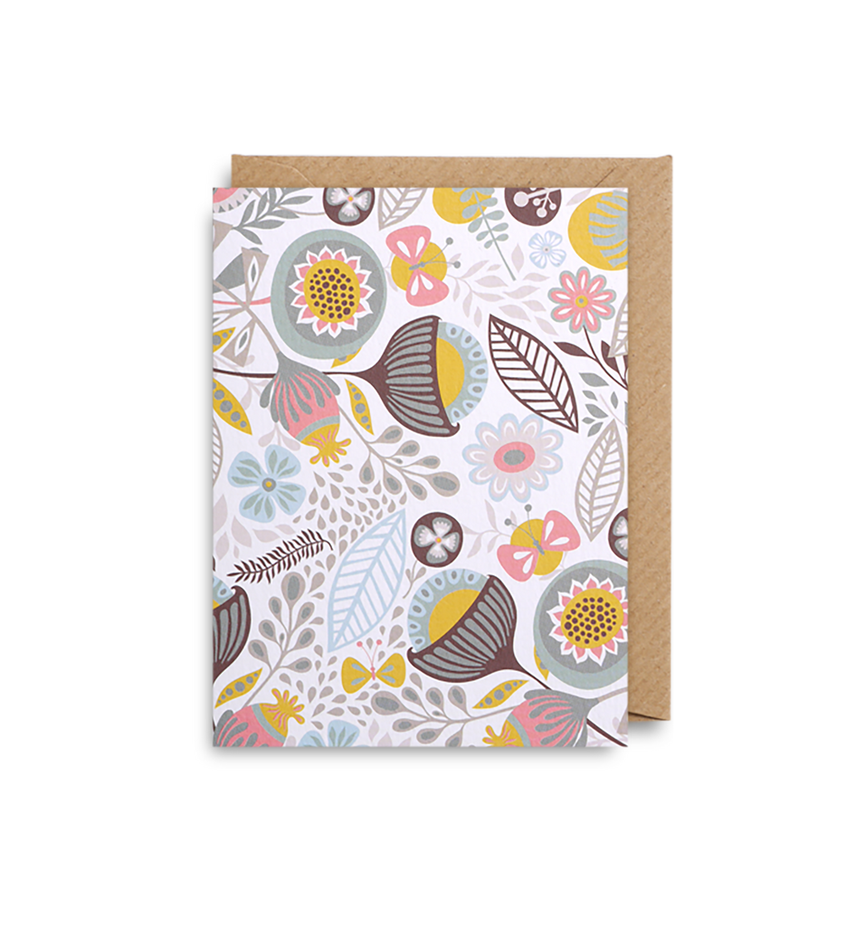 Butterflies Mini Card - Lagom Design