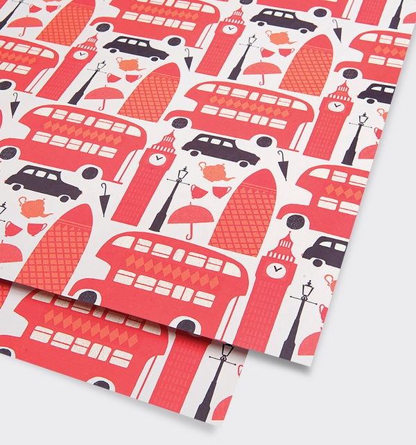 London Gift Wrap - Lagom Design