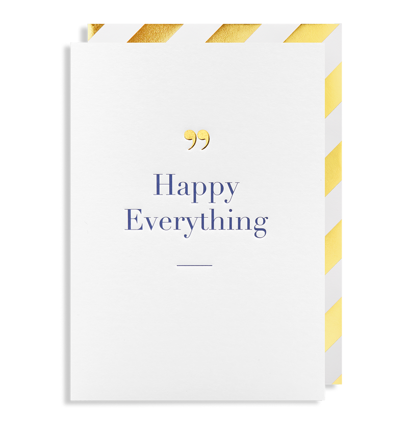 Happy Everything Greeting Card - Lagom Design