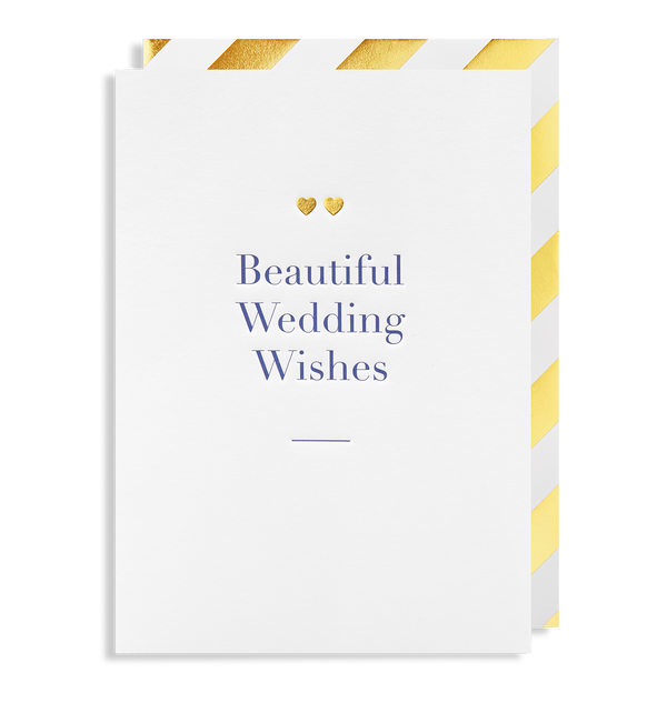 Beautiful Wedding Wishes - Lagom Design