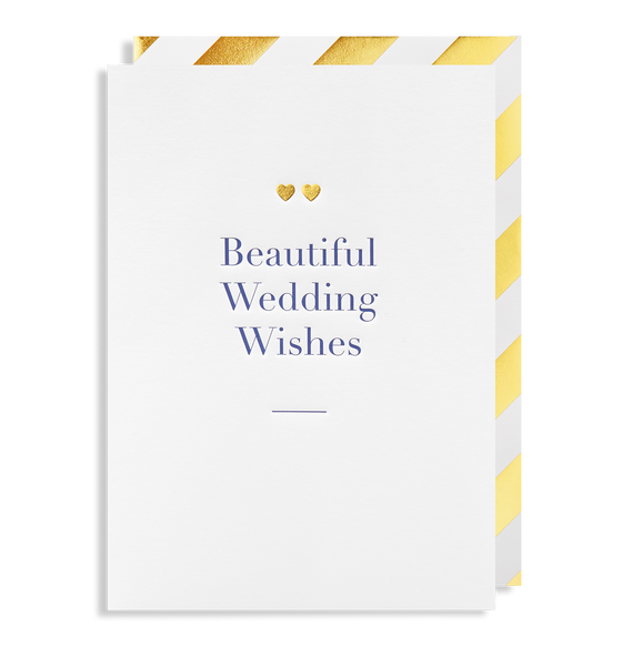 Beautiful Wedding Wishes Greeting Card