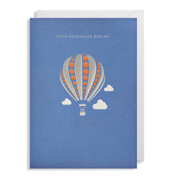 Your Adventure Begins Greeting Card - Lagom Design