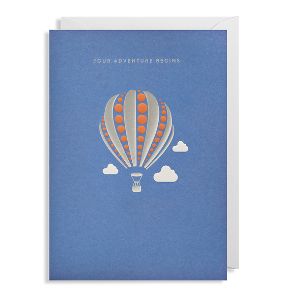Your Adventure Begins Greeting Card