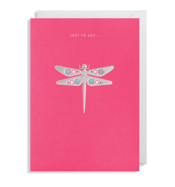 Just to Say... Greeting Card - Lagom Design