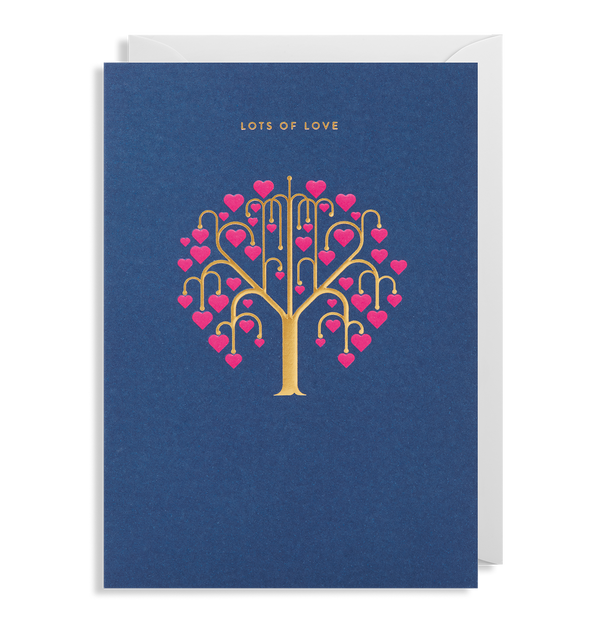Lots of Love Greeting Card - Lagom Design