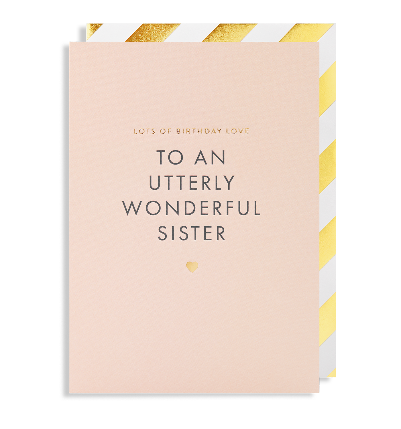 Lots of birthday love to a wonderful sister greeting card by postco lots of birthday love to a wonderful sister greeting card lagom design m4hsunfo
