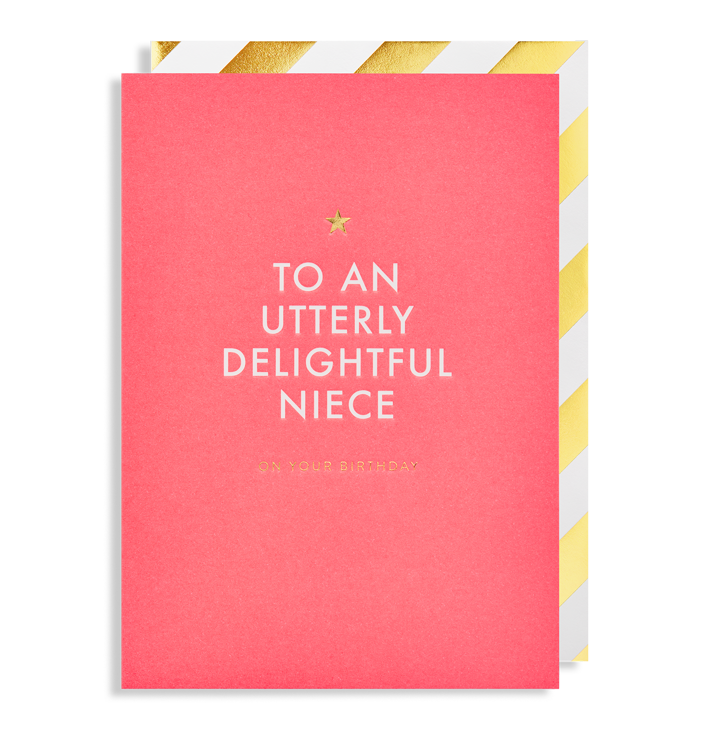 To A Utterly Delightful Niece On Your Birthday Greeting Card