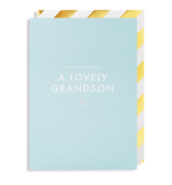 How Wonderful! A Lovely New Grandson - Lagom Design