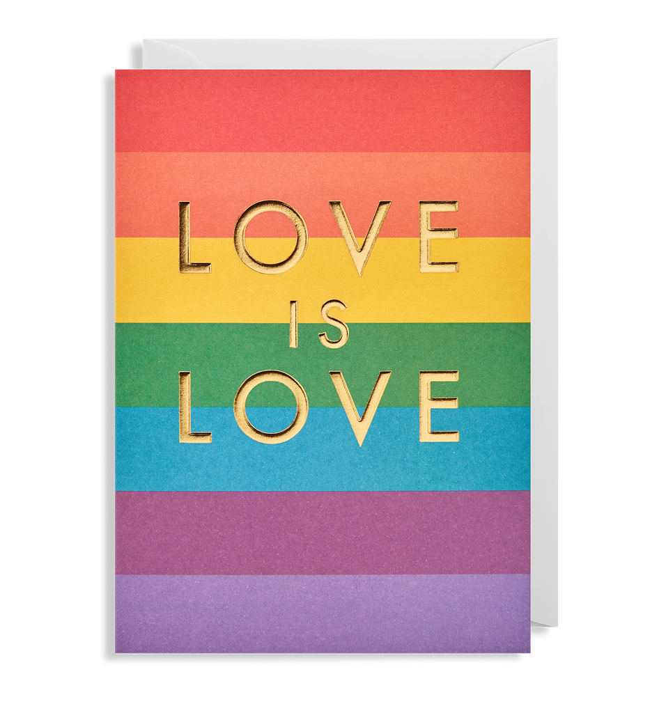 Love is Love Greeting Card - Lagom Design
