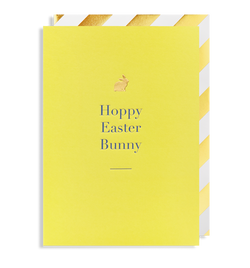 Hoppy Easter Bunny Greeting Card - Lagom Design