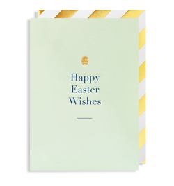 Happy Easter Wishes Greeting Card - Lagom Design