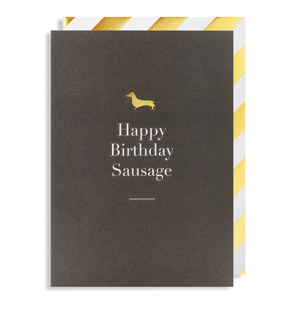 Happy Birthday Sausage - Lagom Design