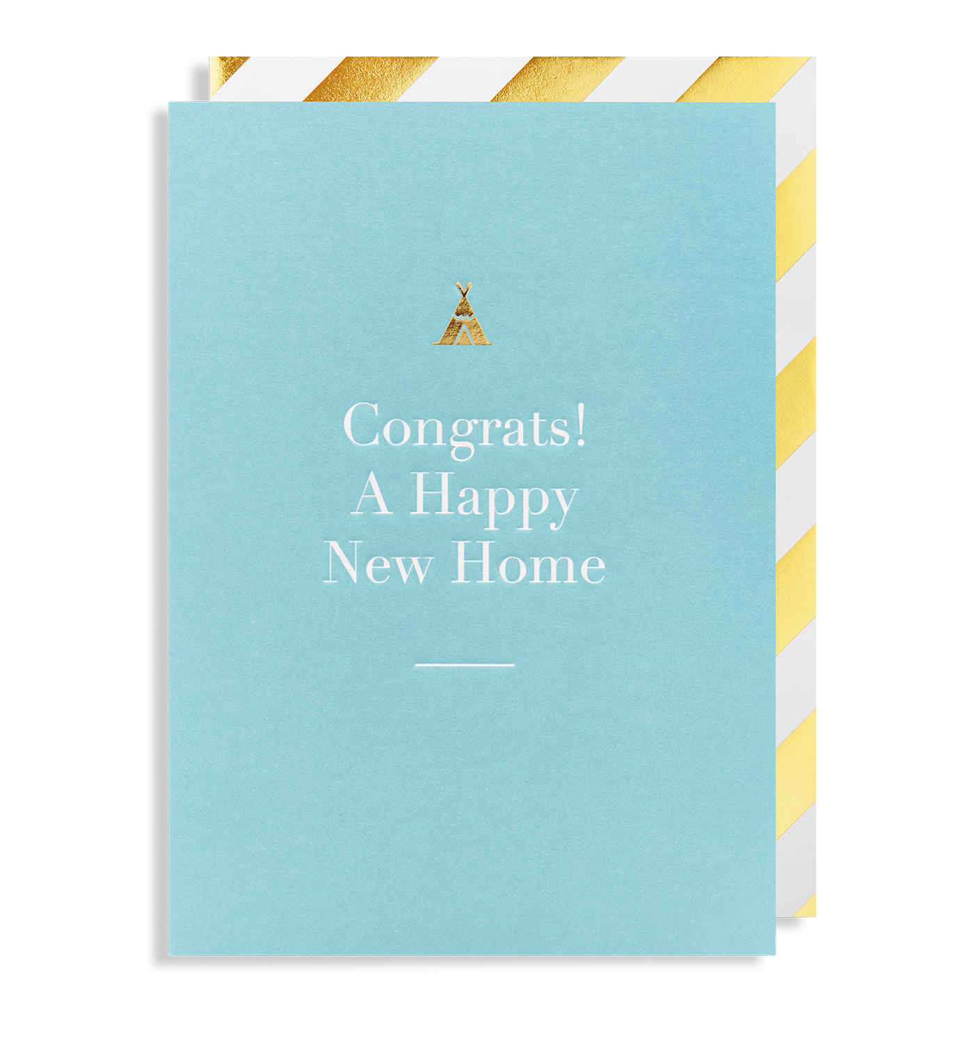 Congrats a happy new home greeting card by charm lagom design congrats a happy new home greeting card lagom design m4hsunfo