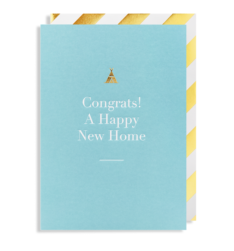 Congrats! a Happy New Home - Lagom Design
