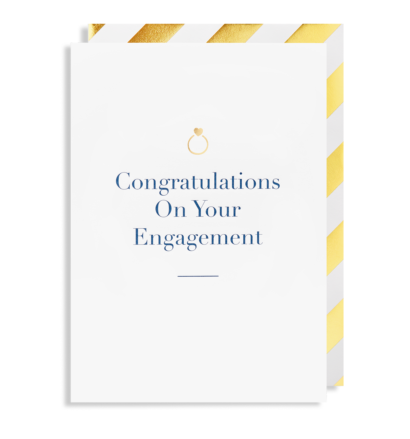 Congratulations On Your Engagement Greeting Card By Charm Lagom Design
