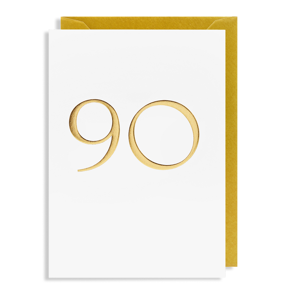 90 Greeting Card - Lagom Design