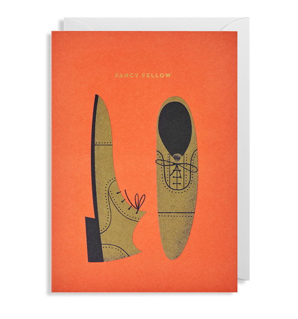 Fancy Fellow Greeting Card - Lagom Design