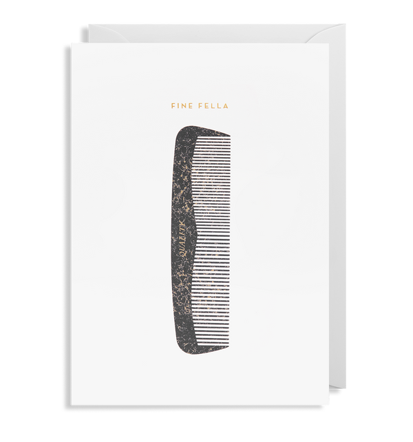 Fine Fella Greeting Card - Lagom Design