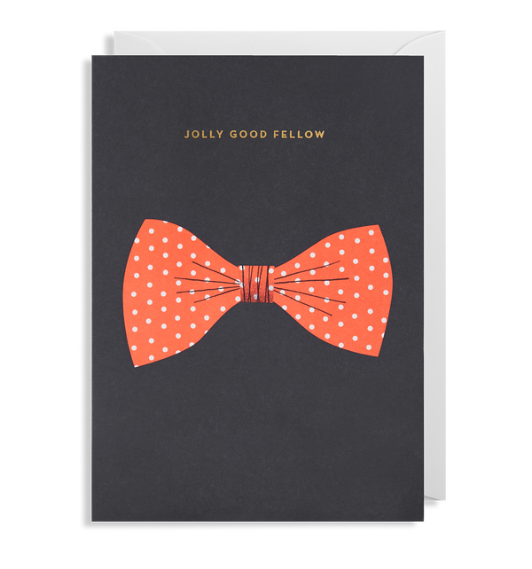 Jolly Good Fellow Greeting Card - Lagom Design