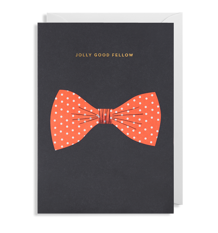 Jolly Good Fellow Greeting Card
