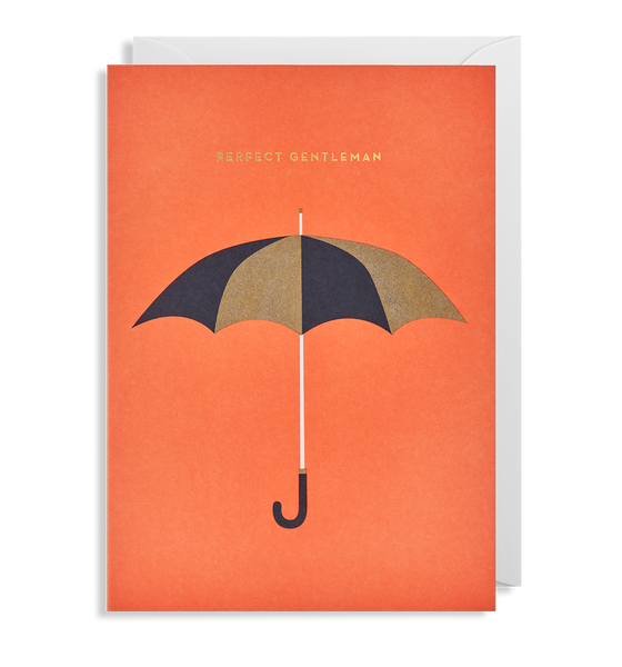 Perfect Gentleman Greeting Card