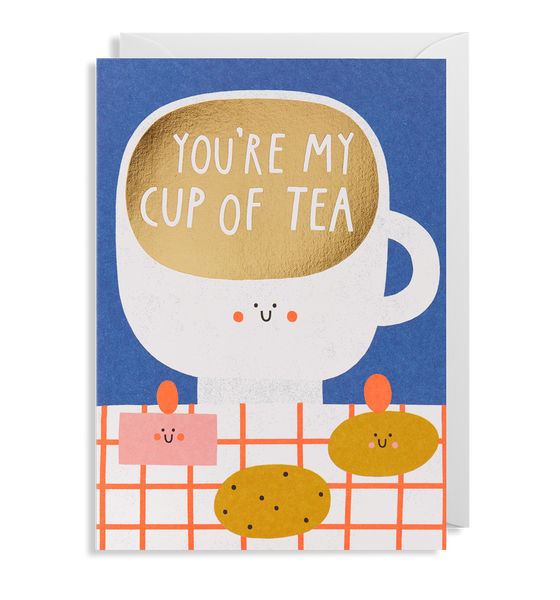 Cup of Tea Greeting Card - Lagom Design